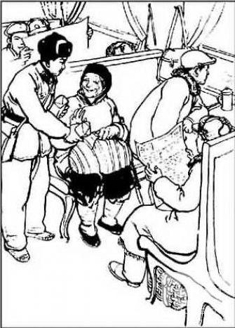 解放军人简笔画幼儿