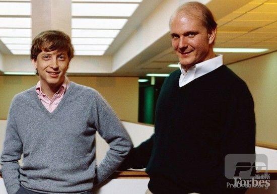 鲍尔默咋拿到那么多微软股份?