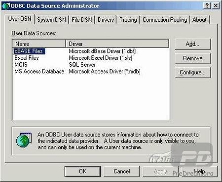Excel连接到MySQL