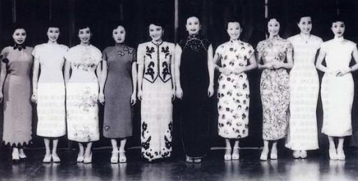 罕见老照片——民国十大女星