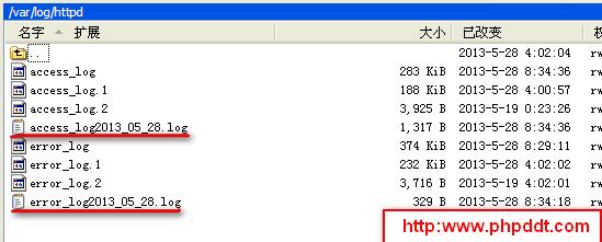 Apache如何每天生成独立日志文件(access_log和error_log)
