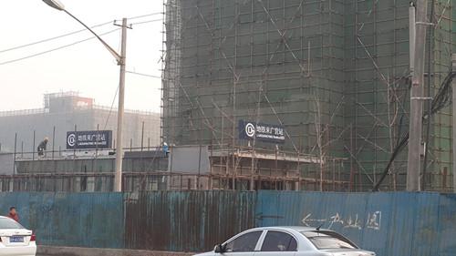 来广营地面站台已经建设完毕,14号线东段预计今年年底通车